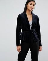 Vila Velvet Tailored Jacket