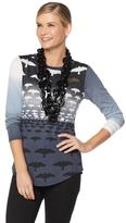 Rara Avis by Iris Apfel Flying Birds Tunic