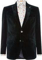 Simon Carter Men's Printed Velvet Jacket