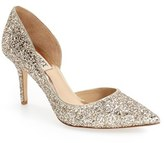 Badgley Mischka Women's 'Daisy' Embellished Pointy Toe Pump