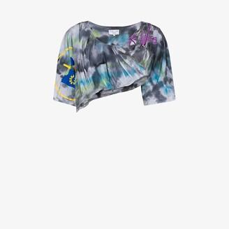 Collina Strada X Browns 50 Cupcake draped shirt