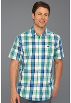 Hurley Chase S/S Woven (Maritime Blue) - Apparel