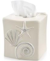 Avanti Bath, Sequin Shells Tissue Cover