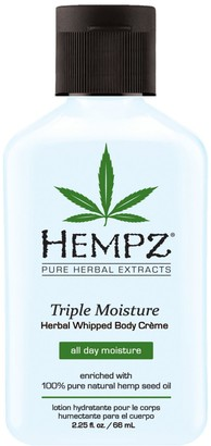 Hempz Triple Moisture Herbal Whipped Body Creme - Travel Size