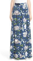 ADAM by Adam Lippes Women's Floral Print Silk Wide Leg Pants