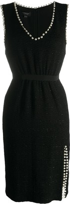 Giambattista Valli Embellished Fitted Dress