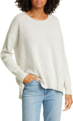 James Perse High/Low Cashmere Sweater