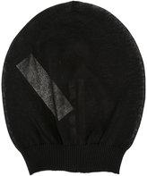 Rick Owens sheer beanie hat