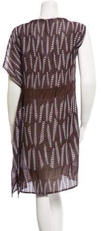 Zero Maria Cornejo Embroidered Dress w/ Tags