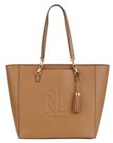 Ralph Lauren Women's Brown Leather Tote.