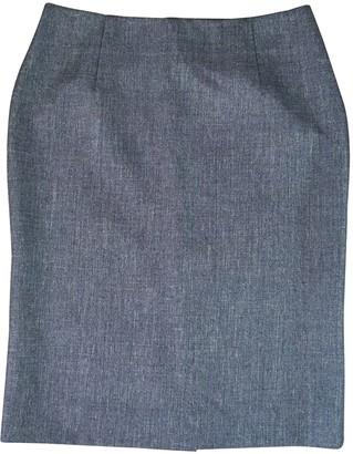 M Missoni Blue Wool Skirt for Women