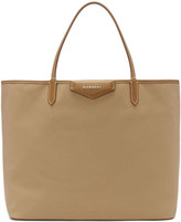 Givenchy Beige Medium Antigona Shopping Tote Bag