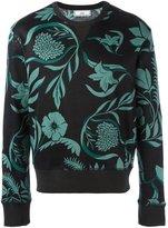 Ami Alexandre Mattiussi floral print sweatshirt - men - Cotton - XS