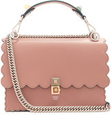 Fendi Kan I leather shoulder bag