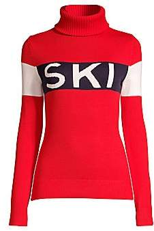 Perfect Moment Women's Ski Merino Wool Sweater