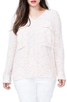 Rachel Roy Plus Size Women's Utility Blouse
