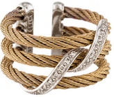 Charriol Two-Tone Diamond Cable Ring