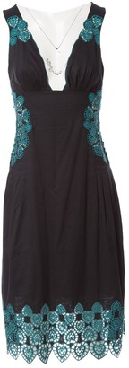 Catherine Malandrino Black Cotton Dresses