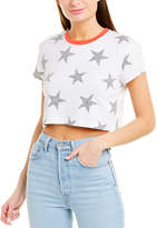 Splendid Graphic Cropped Top