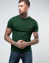 Fred Perry Small Logo T-Shirt In Green