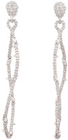 Alexis Bittar Twisted Linear Pave Post Earring