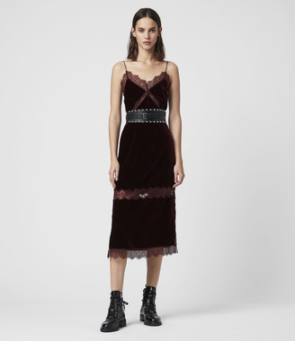 AllSaints Noa Long Dress