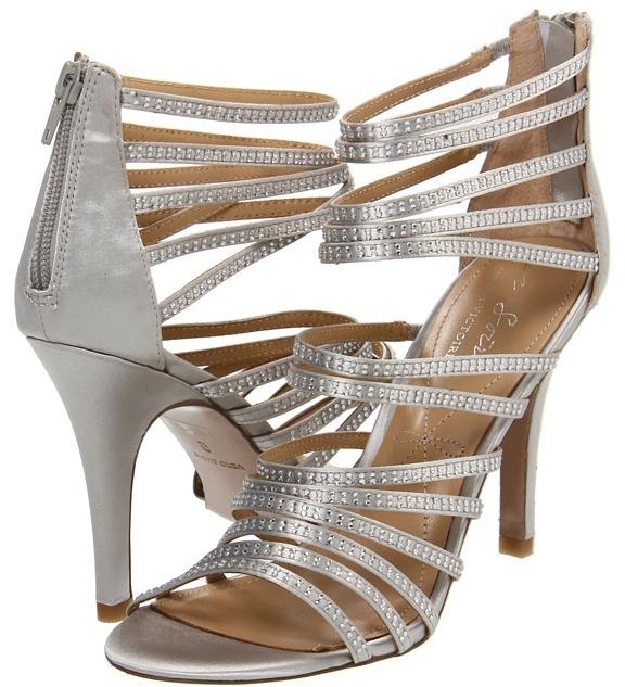 Pour La Victoire Briller (Silver Satin) - Footwear