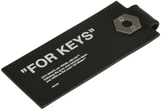 Off-White Quote Key Holder