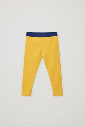 Cos Cotton Jersey Leggings