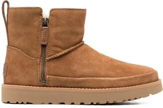 UGG Zipped Sheepskin Boots