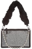 Opening Ceremony Crystal Nev Zip Clutch w/ Tags