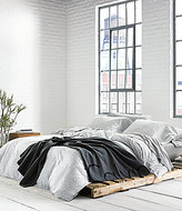 Calvin Klein Modern Cotton Collection Primal Animal-Print Jersey Duvet