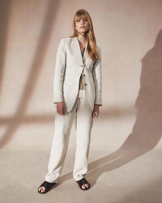 Jigsaw Linen 3 Button Suit Jacket