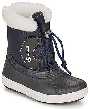 Aigle NEERVEI girls's Snow boots in Blue