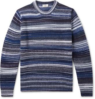 Altea Striped Virgin Wool-Blend Sweater