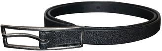 Saint Laurent Black Leather Belts