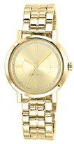 Nine West Women's NW/1642CHGB Gold-Tone Bracelet Watch