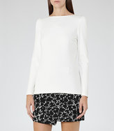 Reiss Erol Long-Sleeved Jersey Top
