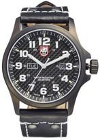 Luminox Men's 'Land - Atacama Field' Leather Strap Watch, 45Mm