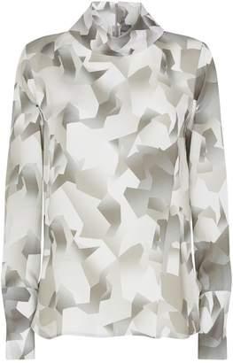 Lorena Antoniazzi Abstract Print Blouse