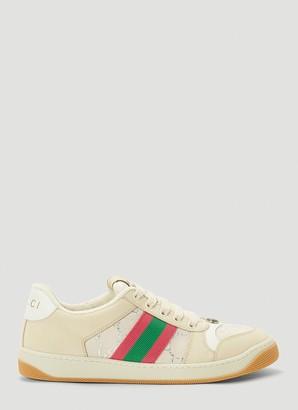 Gucci Web Screener Sneakers