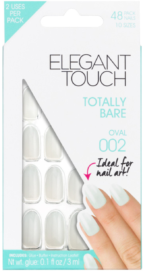 Elegant Touch Totally Bare Nails - Oval 002
