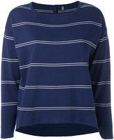 Eleventy striped sweater - women - Cotton - M
