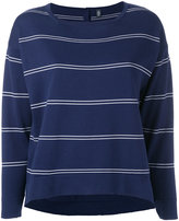 Eleventy striped sweater - women - Cotton - S