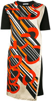 Carven printed shortsleeved dress - women - Silk/Cotton - M