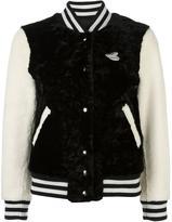 Marc Jacobs Disney textured bomber jacket