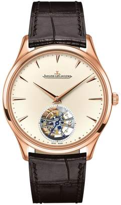 Jaeger-LeCoultre Jaeger Lecoultre Master Ultra Thin Tourbillon Watch 40mm