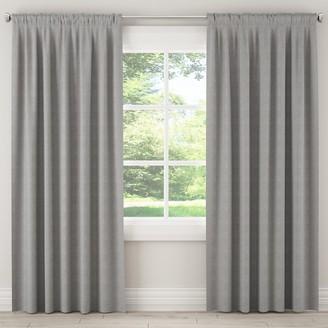 Lulu & Georgia Zuma Pumice Curtain Panel