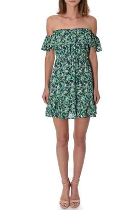 If By Sea OTS Mini Dress