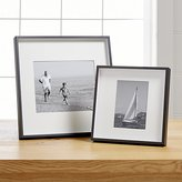 Crate & Barrel Brushed Gunmetal Frames